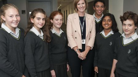 Lucy Harrison is the new headteacher of Archer Academy. Picture: Nigel Sutton