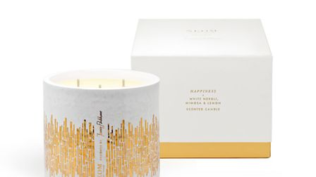 Jenny Packham for Neom Happiness Candle, 80, available from Neom. PA Photo/Handout