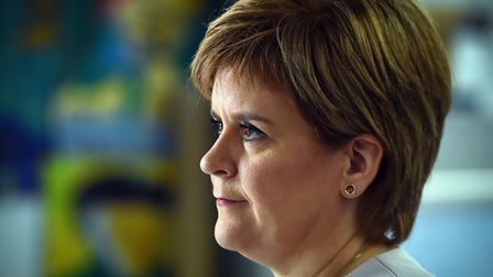 First minister Nicola Sturgeon says the government cannot promsie everything to everyone