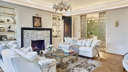 Luxury apartment in north London