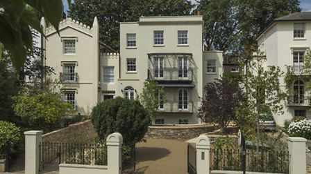 Downshire Hill is in the heart of a Hampstead conservation area so new development is almost impossi