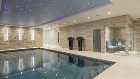 It's very rare to get a pool and leisure suite in period homes