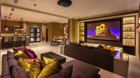 It's rare to find a period property with a cinema room