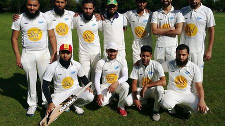 GB strikers have been crowned kings of the North East London Cricket League
