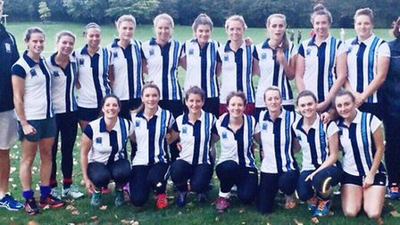 The Hampstead & Westminster Ladies squad