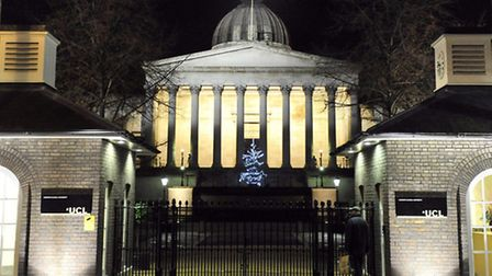 University College London is the largest university in London, with campus buildings and sites all a
