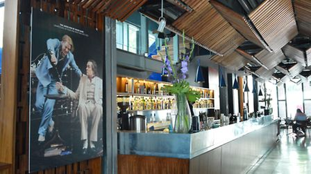 Hampstead Theatre foyer and bar