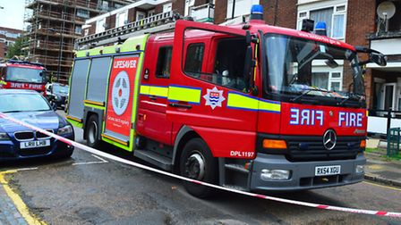 Four fire engines rushed to Lewis Street, Camden