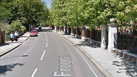 Police are hunting burglar who attacked a woman in her Frognal home