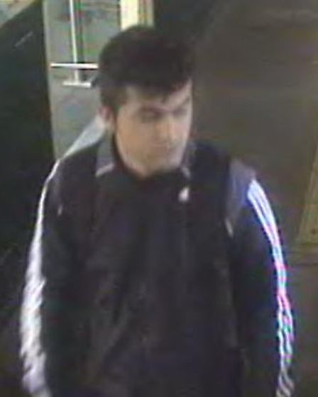 He may live in East Finchley, or have connections there (Photo: BTP)