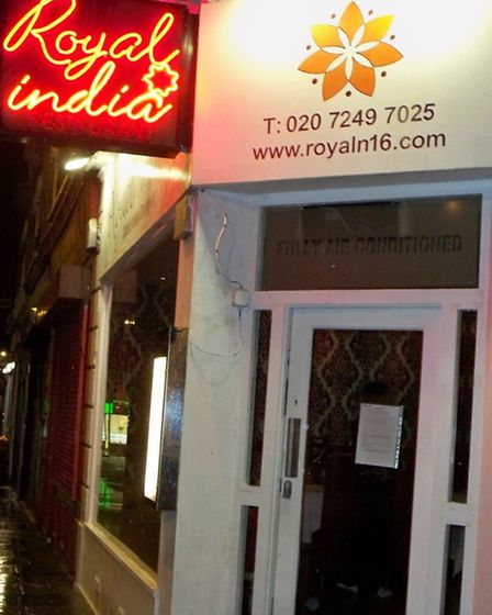 The Royal India restaurant