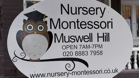 Nursery Montessori Muswell Hill