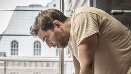 Edward Bennett in rehearsals for Photograph 51. Picture: Marc Brenner