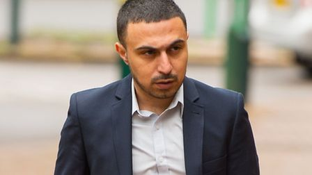 Adam Deacon outside court.