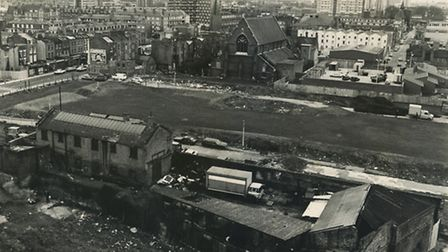 The site before the farm was built
