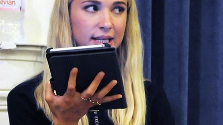 Maddy Hill, who plays Nancy Carter in EastEnders