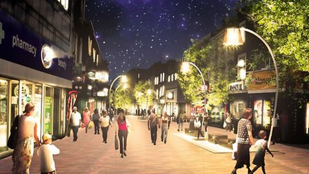 An artist's impression of the Narroway designs