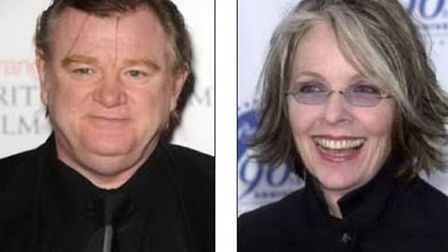 Brendan Gleeson and Diane Keaton are to star in the film. Pictures: PA