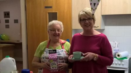 Dales WI's coffee morning rasied £775 for Macmillan Cancer Support. Photo: Maggie Jordan.