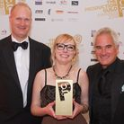 Hackney resident Jessamyn Keogh received the Production Guild's Rising Star award last month. From l