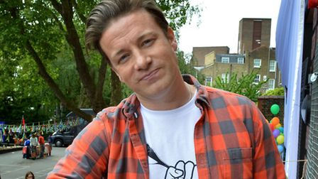 Jamie Oliver and his family were not thought to be home at the time of the burglary. Picture: Polly