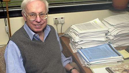 Dr Tomas Lindahl has won the Nobel Prize in Chemistry. Picture: The Francis Crick Institute