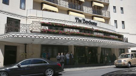 The Dorchester Hotel in London was just one of several five-star hotels targeted by the pair