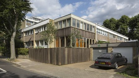 The Ravenswood extension is sympathetic to other buildings on the 1960s estate but is marked out by