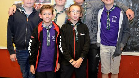 Scouts quiz winners 14th Lowestoft. Pictures: Mick Howes