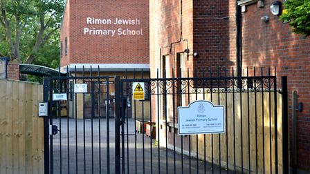 Rimon Jewish Primary School in Golders Green. Picture: Polly Hancock
