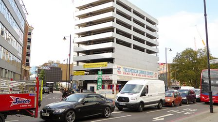 The American Car Wash franchise in Great Eastern Street