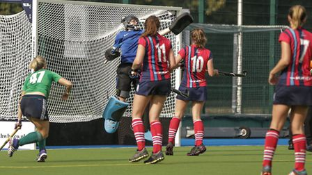 Hampstead & Westminster goalkeeper Roxy Gianfrancesco was only beaten once by a Slough side that had