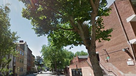 A 22-year-old man was stabbed at Walker House in Phoenix Street, Somers Town