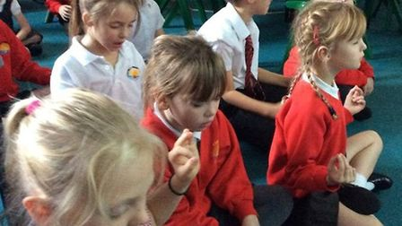 Activities at the whole school Buddhism Day at Corton Primary School. Pictures: Jemma Dalley