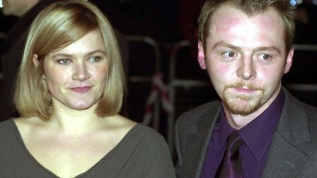 Simon Pegg and Jessica Hynes, who wrote and starred as Tim and Daisy in the Channel 4 comedy series