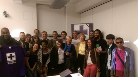 The United Patients Alliance met in Camden on Monday