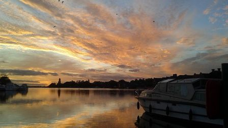This beautiful shot capturing Oulton Broad during sunset has won The Journal's Picture of the Week. Photo: Denise Moore,