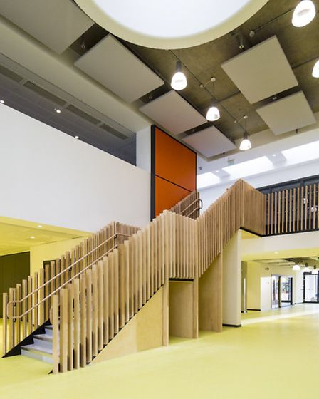 Interior of King's Cross Academy and Frank Barnes School for Deaf Children at King's Cross