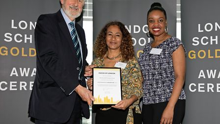 Northwold Primary School in Hackney has been awarded Gold Club status for a second year running. Pho