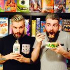 The cereal cafe is owned by indentical twins Alan Keery (left) and Gary Keery