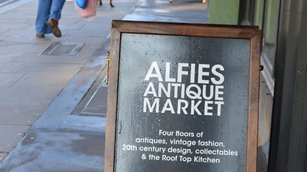 Alfies Antiques Market, Marylebone Church Street, NW8