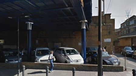 Hackney Downs station, Google street view