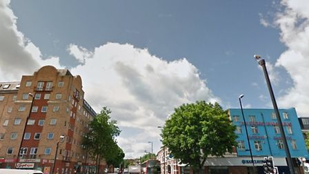 The junction of Holloway Road and Seven Sisters Road