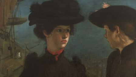 Coster Girls by Rothenstein