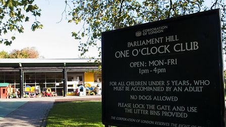 Plans have been announced to stop staffing the One O'Clock Club and other Heath play facilities. Pic