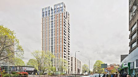 What the new Swiss Cottage tower would look like