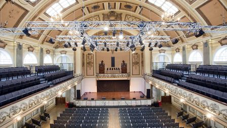 Works to upgrade the 750-capacity Assembly Hall at Shoreditch Town Hall are now complete