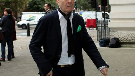 George Hammond at Westminster Magistrates' Court on Monday. Picture: Ed Willcox