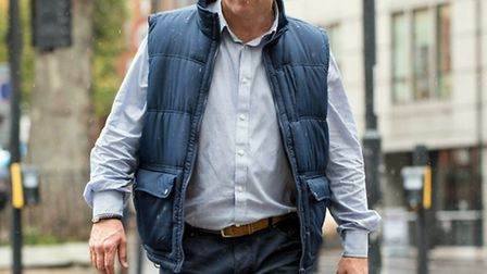Frederick Clifford Gross at Westminster Magistrates' Court on Monday. Picture: Javier Casado