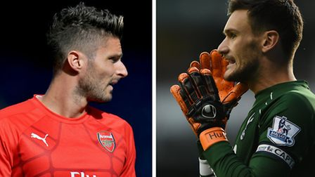 Olivier Giroud and Hugo Lloris are neighbours on The Bishops Avenue